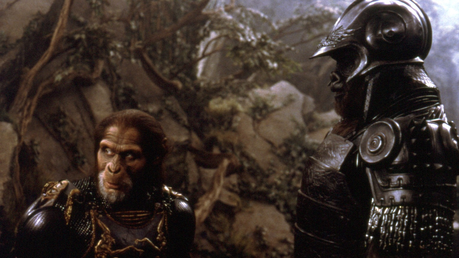 This week we watch the Planet of the Apes remake.