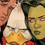 Marvel's Guardians Of The Galaxy Post-Sequence Continues In Howard The Duck