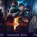 Resident Evil Rehash: 2016 Edition